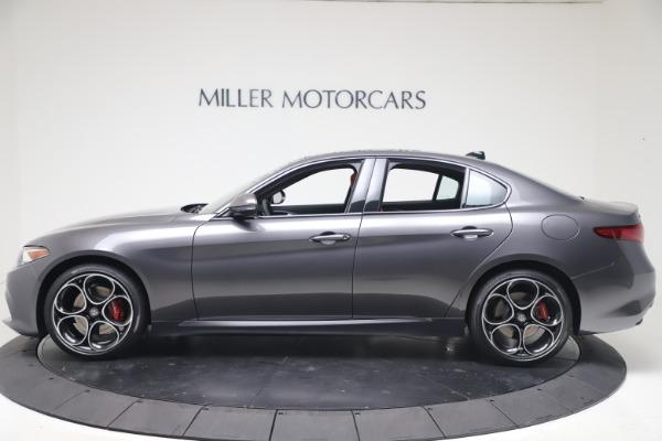New 2020 Alfa Romeo Giulia Ti Sport Q4 for sale $51,095 at Pagani of Greenwich in Greenwich CT 06830 3