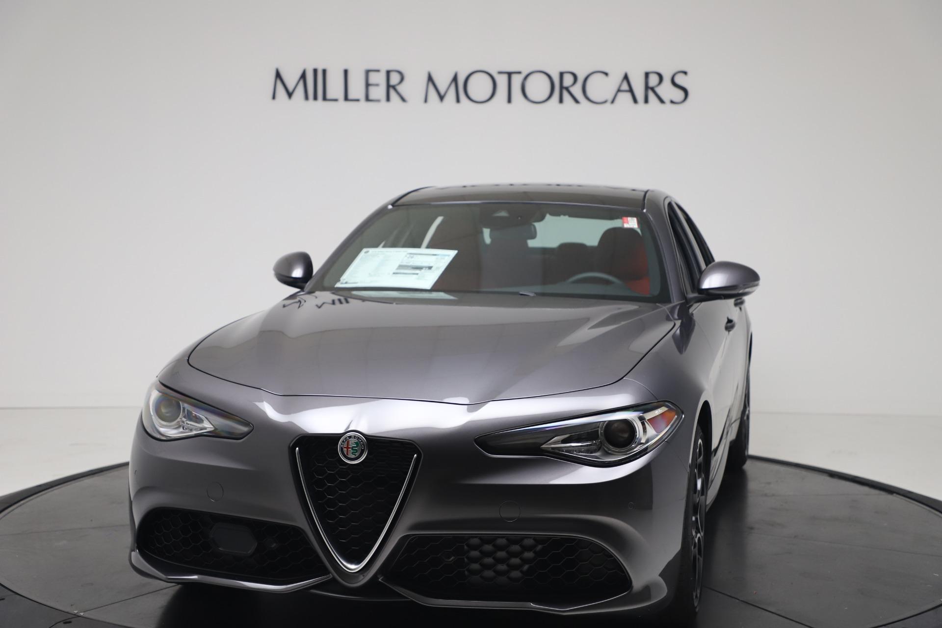 New 2020 Alfa Romeo Giulia Ti Sport Q4 for sale $51,095 at Pagani of Greenwich in Greenwich CT 06830 1