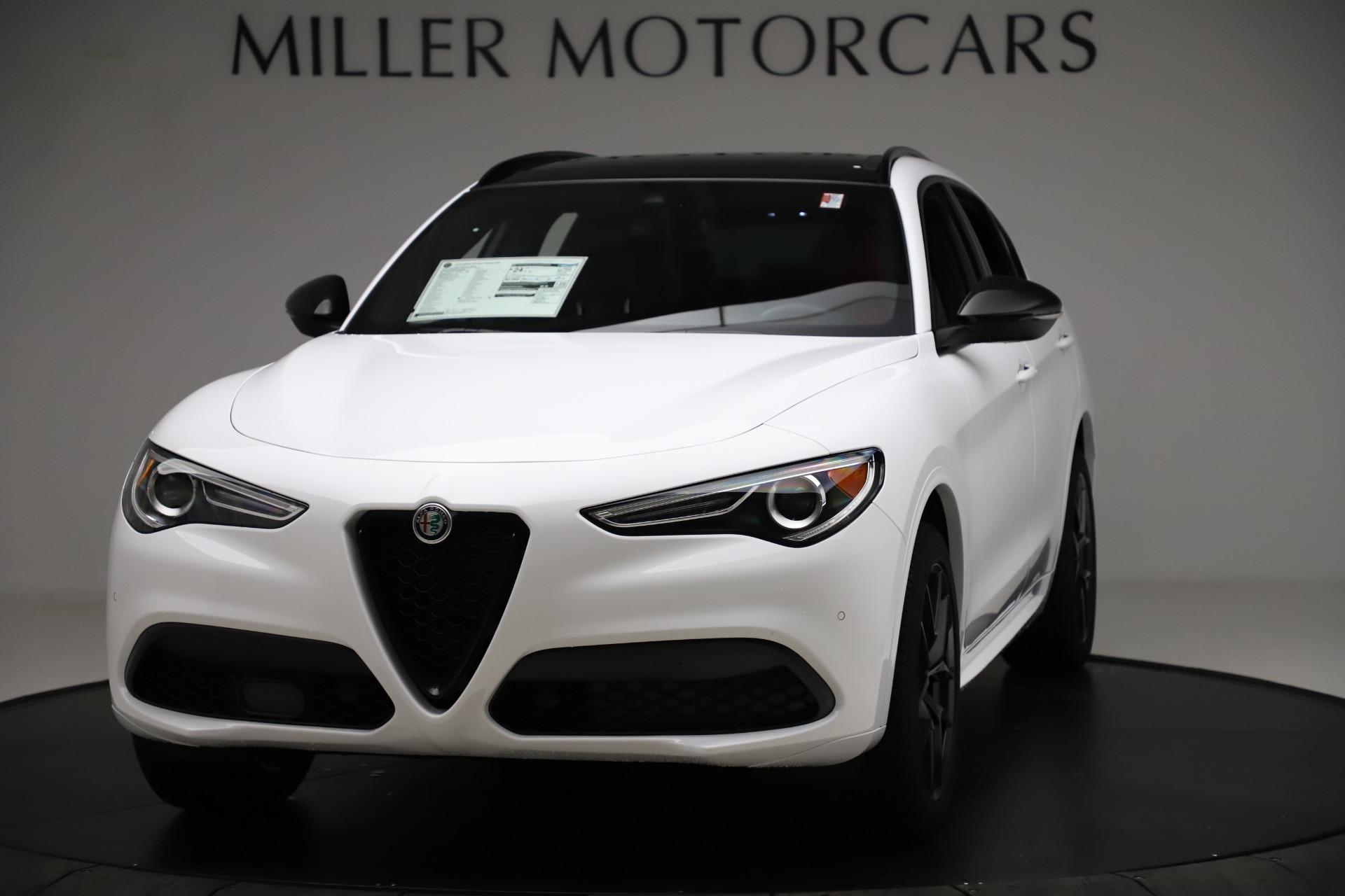 New 2020 Alfa Romeo Stelvio Ti Sport Q4 for sale $54,345 at Pagani of Greenwich in Greenwich CT 06830 1