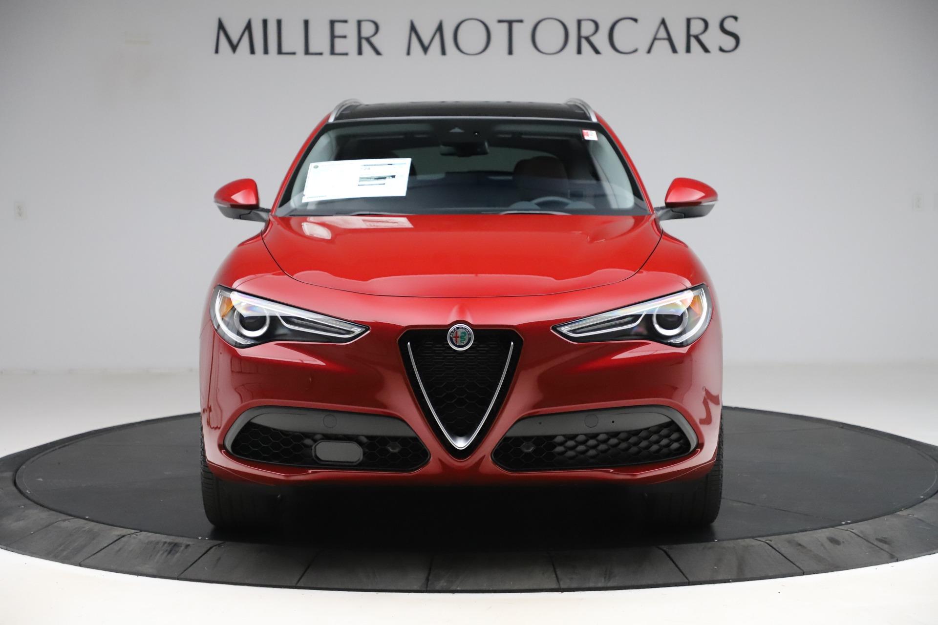 New 2020 Alfa Romeo Stelvio Ti Lusso Q4 for sale $56,495 at Pagani of Greenwich in Greenwich CT 06830 1
