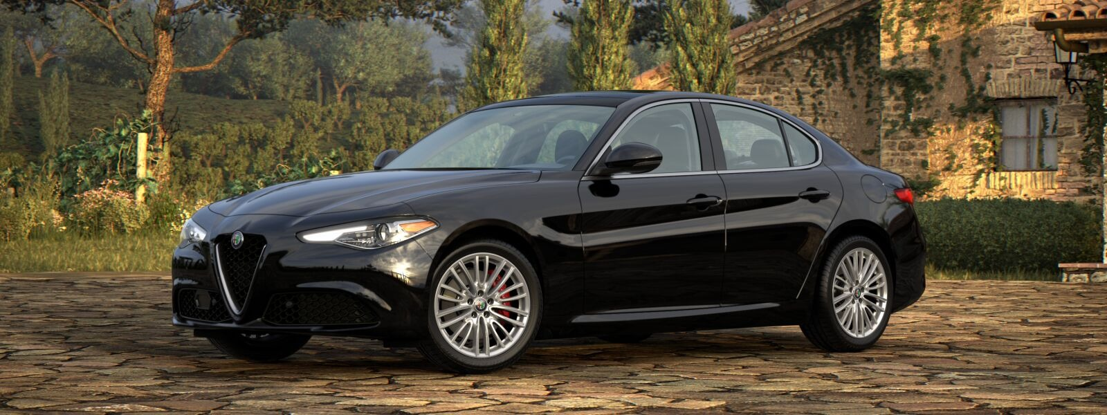 New 2020 Alfa Romeo Giulia Ti Lusso Q4 for sale $51,195 at Pagani of Greenwich in Greenwich CT 06830 1