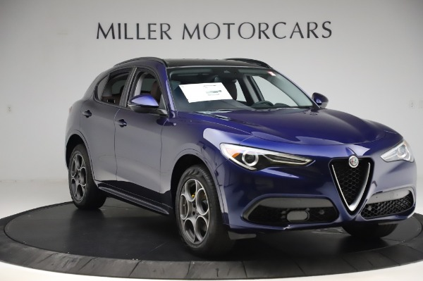 New 2020 Alfa Romeo Stelvio Sport Q4 for sale $50,895 at Pagani of Greenwich in Greenwich CT 06830 11