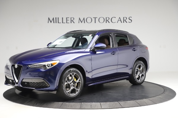 New 2020 Alfa Romeo Stelvio Sport Q4 for sale $50,895 at Pagani of Greenwich in Greenwich CT 06830 2
