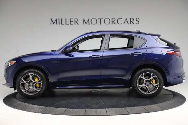 New 2020 Alfa Romeo Stelvio Sport Q4 for sale $50,895 at Pagani of Greenwich in Greenwich CT 06830 3