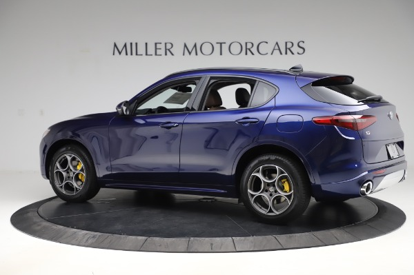 New 2020 Alfa Romeo Stelvio Sport Q4 for sale $50,895 at Pagani of Greenwich in Greenwich CT 06830 4