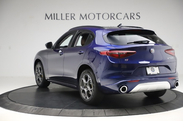 New 2020 Alfa Romeo Stelvio Sport Q4 for sale $50,895 at Pagani of Greenwich in Greenwich CT 06830 5
