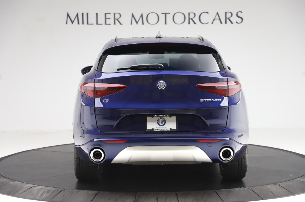 New 2020 Alfa Romeo Stelvio Sport Q4 for sale $50,895 at Pagani of Greenwich in Greenwich CT 06830 6
