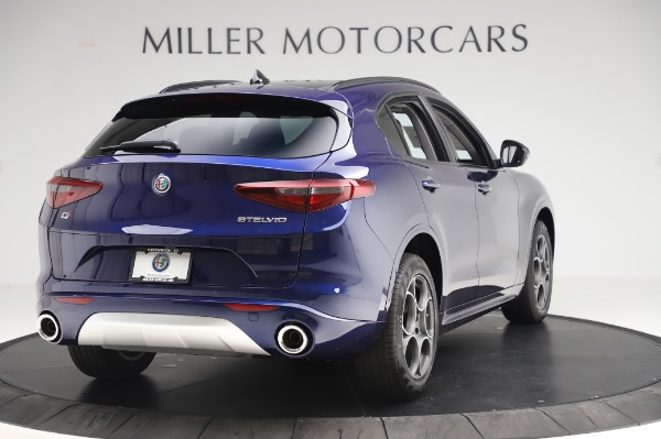 New 2020 Alfa Romeo Stelvio Sport Q4 for sale $50,895 at Pagani of Greenwich in Greenwich CT 06830 7
