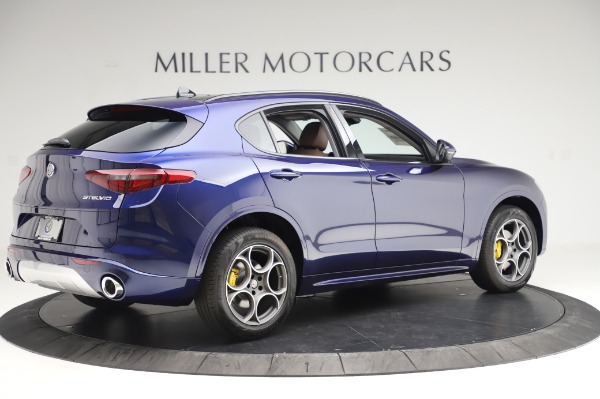 New 2020 Alfa Romeo Stelvio Sport Q4 for sale $50,895 at Pagani of Greenwich in Greenwich CT 06830 8