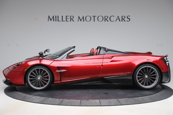 Used 2017 Pagani Huayra Roadster for sale Call for price at Pagani of Greenwich in Greenwich CT 06830 3