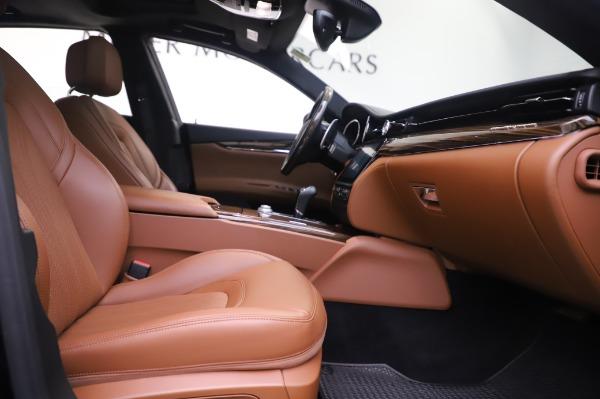 Used 2017 Maserati Quattroporte S Q4 GranLusso for sale Sold at Pagani of Greenwich in Greenwich CT 06830 22