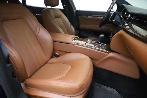 Used 2017 Maserati Quattroporte S Q4 GranLusso for sale Sold at Pagani of Greenwich in Greenwich CT 06830 23