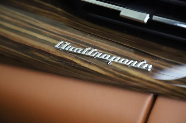 Used 2017 Maserati Quattroporte S Q4 GranLusso for sale Sold at Pagani of Greenwich in Greenwich CT 06830 28