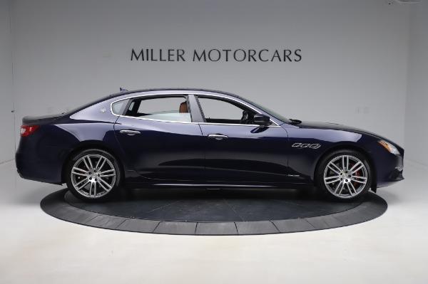 Used 2017 Maserati Quattroporte S Q4 GranLusso for sale Sold at Pagani of Greenwich in Greenwich CT 06830 9