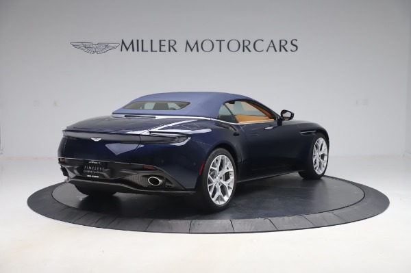 Used 2019 Aston Martin DB11 Volante Convertible for sale $219,900 at Pagani of Greenwich in Greenwich CT 06830 23