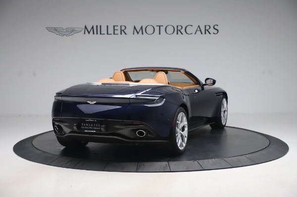Used 2019 Aston Martin DB11 Volante Convertible for sale $219,900 at Pagani of Greenwich in Greenwich CT 06830 6