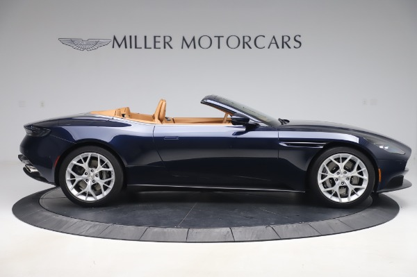 Used 2019 Aston Martin DB11 Volante Convertible for sale $219,900 at Pagani of Greenwich in Greenwich CT 06830 8