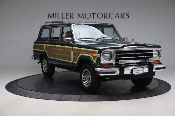 Used 1991 Jeep Grand Wagoneer for sale Call for price at Pagani of Greenwich in Greenwich CT 06830 11