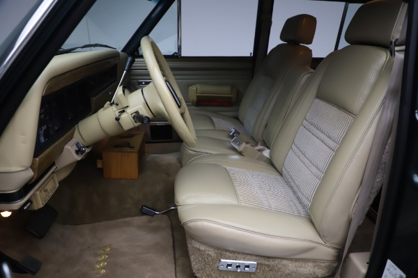 Used 1991 Jeep Grand Wagoneer for sale Call for price at Pagani of Greenwich in Greenwich CT 06830 13
