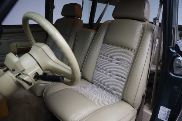 Used 1991 Jeep Grand Wagoneer for sale Call for price at Pagani of Greenwich in Greenwich CT 06830 14
