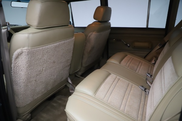 Used 1991 Jeep Grand Wagoneer for sale Call for price at Pagani of Greenwich in Greenwich CT 06830 15