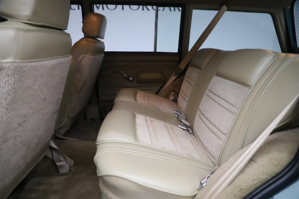 Used 1991 Jeep Grand Wagoneer for sale $89,900 at Pagani of Greenwich in Greenwich CT 06830 16