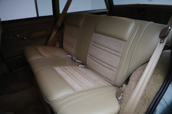 Used 1991 Jeep Grand Wagoneer for sale Call for price at Pagani of Greenwich in Greenwich CT 06830 17