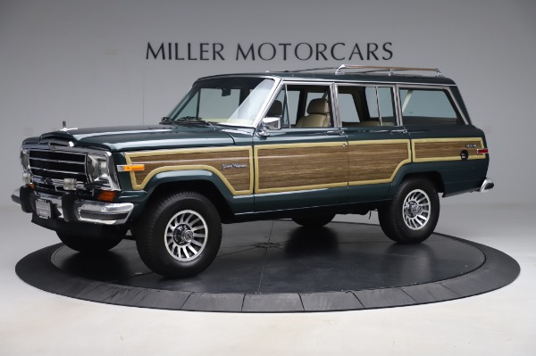 Used 1991 Jeep Grand Wagoneer for sale Call for price at Pagani of Greenwich in Greenwich CT 06830 2