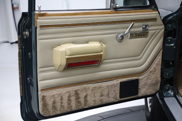 Used 1991 Jeep Grand Wagoneer for sale Call for price at Pagani of Greenwich in Greenwich CT 06830 21
