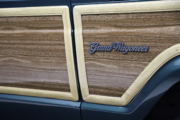 Used 1991 Jeep Grand Wagoneer for sale Call for price at Pagani of Greenwich in Greenwich CT 06830 28
