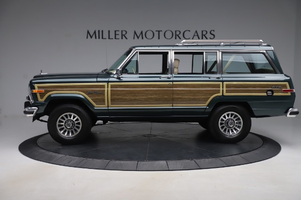Used 1991 Jeep Grand Wagoneer for sale $89,900 at Pagani of Greenwich in Greenwich CT 06830 3