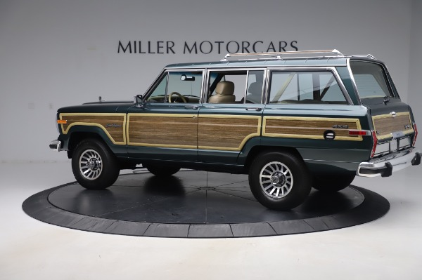 Used 1991 Jeep Grand Wagoneer for sale Call for price at Pagani of Greenwich in Greenwich CT 06830 4