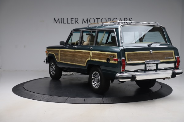 Used 1991 Jeep Grand Wagoneer for sale Call for price at Pagani of Greenwich in Greenwich CT 06830 5