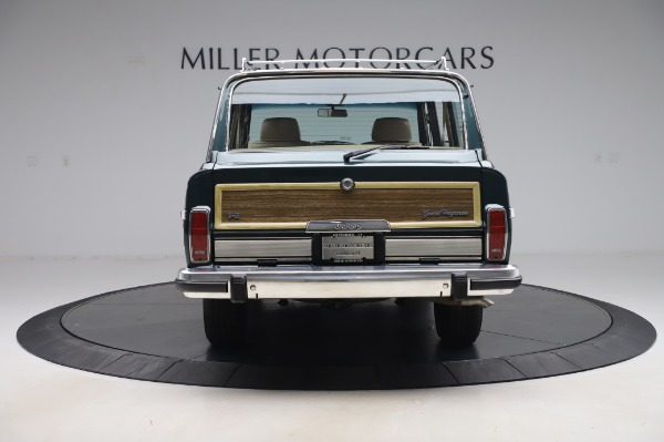 Used 1991 Jeep Grand Wagoneer for sale Call for price at Pagani of Greenwich in Greenwich CT 06830 6