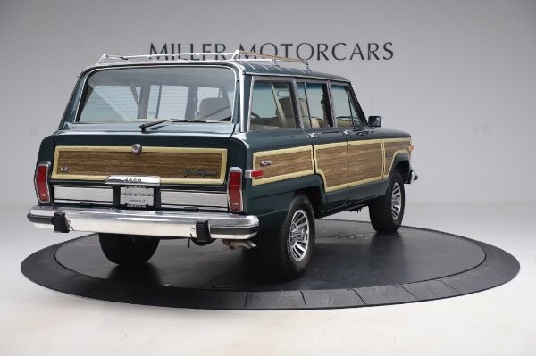 Used 1991 Jeep Grand Wagoneer for sale Call for price at Pagani of Greenwich in Greenwich CT 06830 7