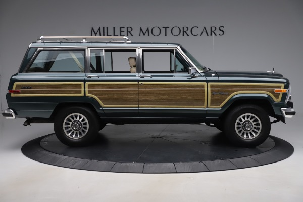 Used 1991 Jeep Grand Wagoneer for sale Call for price at Pagani of Greenwich in Greenwich CT 06830 9
