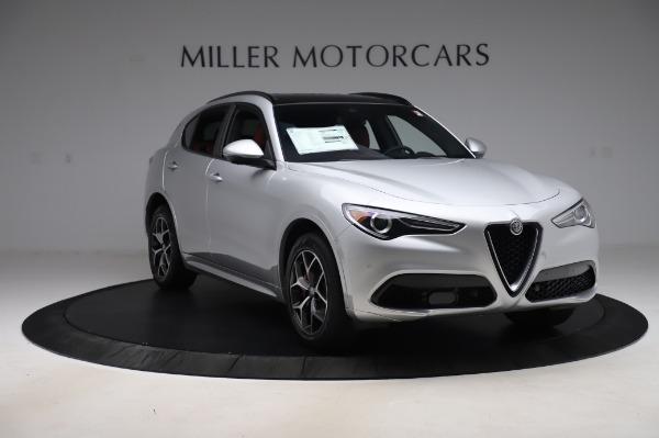 New 2020 Alfa Romeo Stelvio Ti Sport Q4 for sale $53,545 at Pagani of Greenwich in Greenwich CT 06830 11