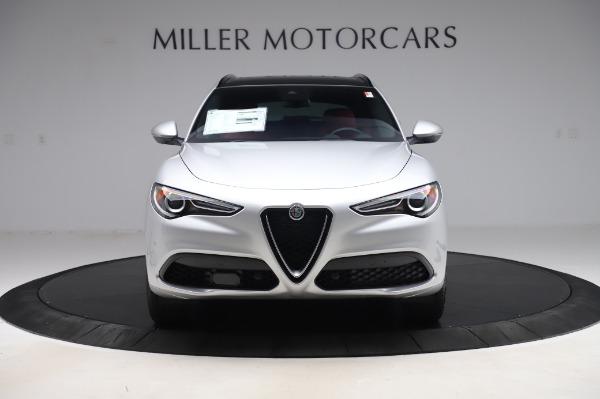New 2020 Alfa Romeo Stelvio Ti Sport Q4 for sale $53,545 at Pagani of Greenwich in Greenwich CT 06830 12
