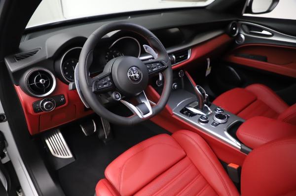 New 2020 Alfa Romeo Stelvio Ti Sport Q4 for sale $53,545 at Pagani of Greenwich in Greenwich CT 06830 13