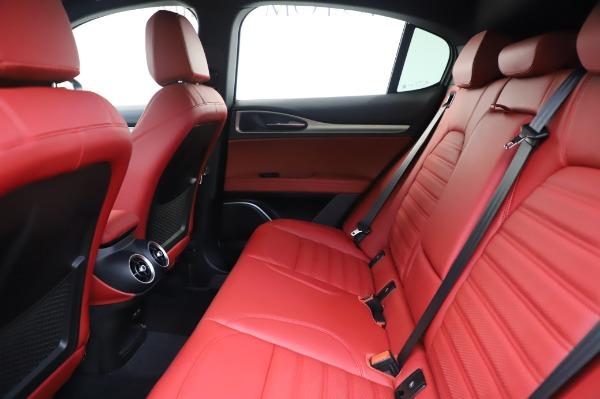 New 2020 Alfa Romeo Stelvio Ti Sport Q4 for sale $53,545 at Pagani of Greenwich in Greenwich CT 06830 19