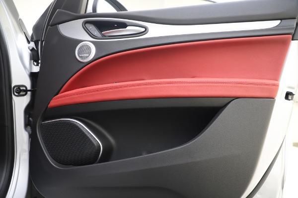 New 2020 Alfa Romeo Stelvio Ti Sport Q4 for sale $53,545 at Pagani of Greenwich in Greenwich CT 06830 24