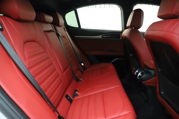 New 2020 Alfa Romeo Stelvio Ti Sport Q4 for sale $53,545 at Pagani of Greenwich in Greenwich CT 06830 25