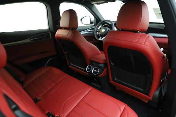 New 2020 Alfa Romeo Stelvio Ti Sport Q4 for sale $53,545 at Pagani of Greenwich in Greenwich CT 06830 26