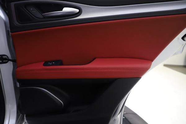 New 2020 Alfa Romeo Stelvio Ti Sport Q4 for sale $53,545 at Pagani of Greenwich in Greenwich CT 06830 27