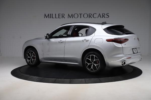 New 2020 Alfa Romeo Stelvio Ti Sport Q4 for sale $53,545 at Pagani of Greenwich in Greenwich CT 06830 4