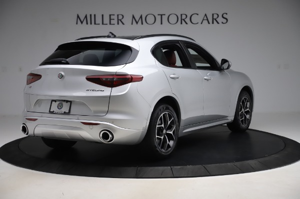 New 2020 Alfa Romeo Stelvio Ti Sport Q4 for sale $53,545 at Pagani of Greenwich in Greenwich CT 06830 7
