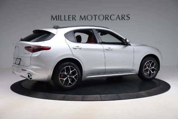 New 2020 Alfa Romeo Stelvio Ti Sport Q4 for sale $53,545 at Pagani of Greenwich in Greenwich CT 06830 8