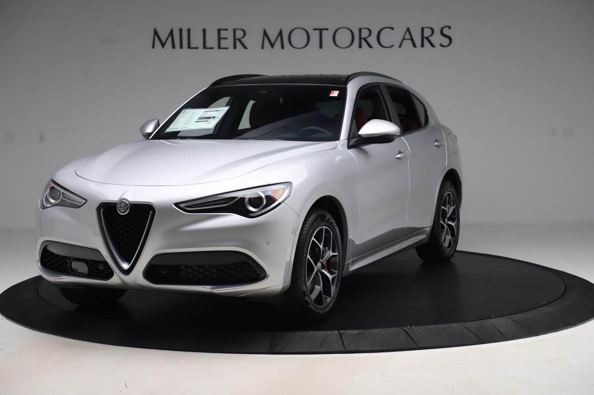 New 2020 Alfa Romeo Stelvio Ti Sport Q4 for sale $53,545 at Pagani of Greenwich in Greenwich CT 06830 1