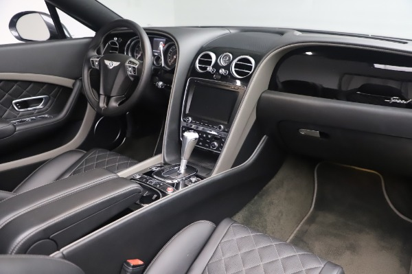 Used 2016 Bentley Continental GTC Speed for sale $146,900 at Pagani of Greenwich in Greenwich CT 06830 23