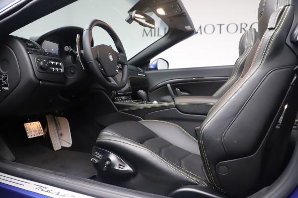 New 2019 Maserati GranTurismo Sport for sale Sold at Pagani of Greenwich in Greenwich CT 06830 24